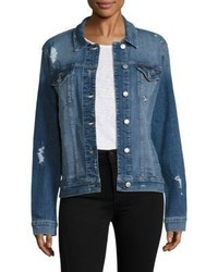 Joe's Jeans Joes Ashley Distressed Denim Jacket