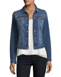 Meryl distressed vintage denim jacket medium 4415793