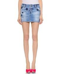 Denim miniskirt medium 241981