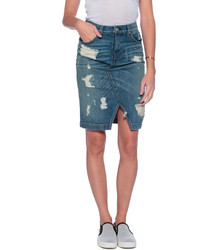 Rag and Bone Rag Bone Denim Skirt