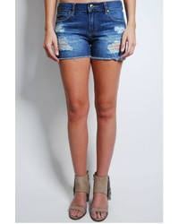 Articles Of Society Denim Distressed Shorts