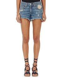 Rag & Bone Cut Off Denim Shorts