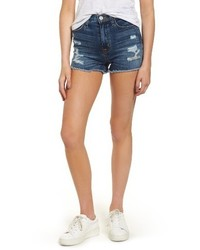 Jeans soko high rise denim cutoff shorts medium 6438625