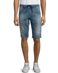 Diesel Krooshort Distressed Drawstring Shorts