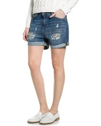 Mango Outlet Denim Boyfriend Shorts
