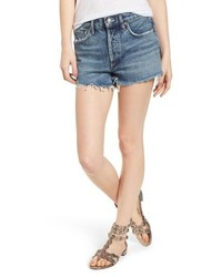Parker distressed denim shorts medium 8681096