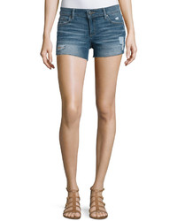 Premium denim rene distressed denim shorts haskin medium 437192