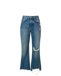 Grlfrnd Cropped High Rise Jeans