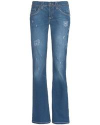 Cruel Girl Jacey Jeans Flare Leg Rip Repair