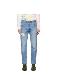 Levis Blue 501 93 Straight Jeans