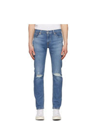 Levis Blue 511 Slim Flex Jeans