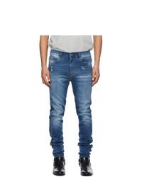 Diesel Blue D Istort 009pu Jeans