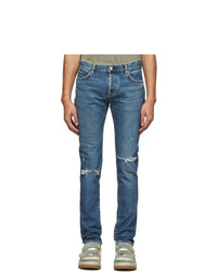 Moussy Vintage Blue Denim Atlasberg Jeans