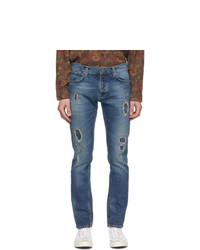 Nudie Jeans Blue Grim Tim Jeans