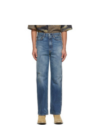 Acne Studios Blue Slim Fit Jeans