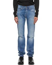 Versace Blue Slim Fit Jeans