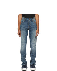 Nudie Jeans Blue Steady Eddie Ii Jeans