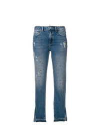 Liu Jo Cropped Flared Jeans