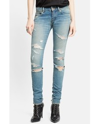 Destroyed skinny jeans medium 566304