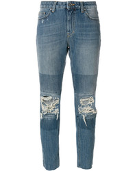 Distressed slim fit jeans medium 5276510