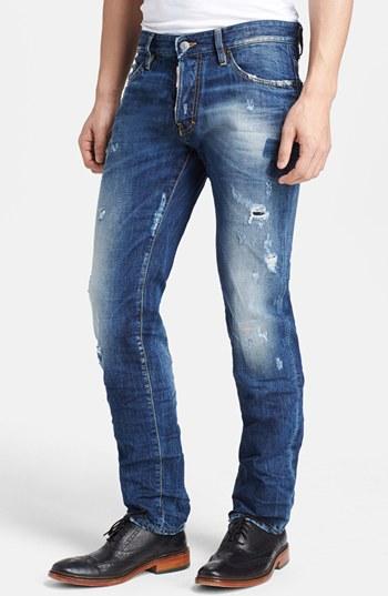 Dsquared2 slim-fit denim jeans Best Store To Get For Sale Cheap Sale Store Onj5VS