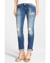 Emma ripped knee boyfriend slim jeans medium 295522
