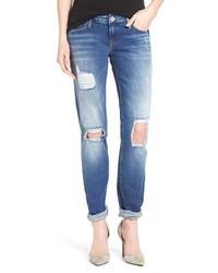 Mavi Jeans Emma Ripped Knee Boyfriend Slim Jeans