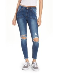 One Teaspoon Freebirds Ii Ripped High Waist Jeans