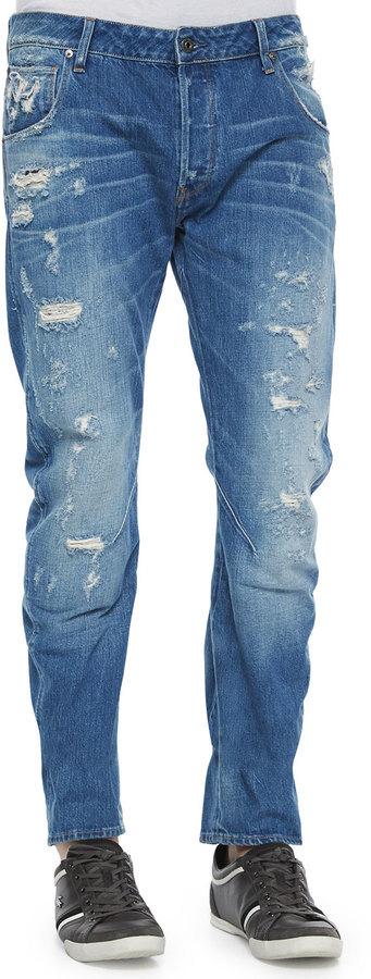 Zerrissene jeans g star