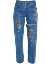 Good For Nothing Emb Embroidered Jeans