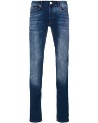 Versace Jeans Distressed Slim Fit Jeans
