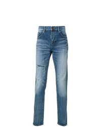 Saint Laurent Light Wash Slim Fit Jeans