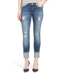 Mavi Jeans Erica Ripped Cuffed Ankle Jeans
