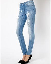 Only Ripped Skinny Jean
