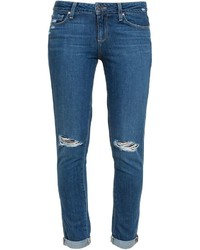 Paige Quinley Distressed Skinny Jeans