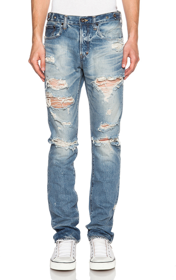 PRPS Japan Demon Fit Destroyed Jeans | Where to buy & how to wear