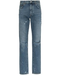 Givenchy Slim Fit Destroyed Denim Jeans