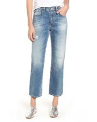 AG The Rhett Vinte High Waist Crop Jeans