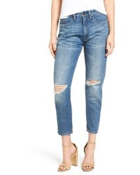 Blank NYC Blanknyc Ripped Mom Jeans