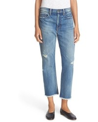 Vince Union Ripped Slouch Jeans