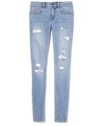 Vince Camuto Two By Ripped Skinny Jeans