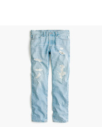 J.Crew Wallace Barnes Jean In Destroyed Selvedge