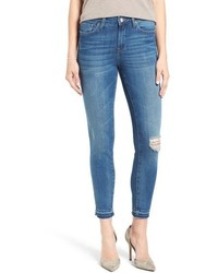 Alissa distressed stretch skinny ankle jeans medium 915980