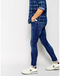 Asos Brand Extreme Super Skinny Jeans With Knee Rips | Where to