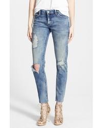 Blank NYC Blanknyc Good Vibes Distressed Skinny Jeans
