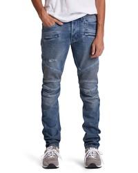 Hudson Jeans Blinder Biker Ripped Skinny Fit Jeans