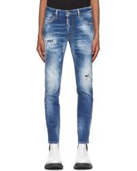 DSQUARED2 Blue D2 Skater Jeans