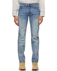 Levi's Made & Crafted Blue Embroidered 511 Jeans