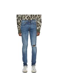 R13 Blue Sid Skinny Jeans