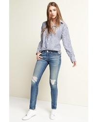 Rag & Bone Capri Crop Skinny Jeans